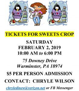 Tickets for Sweets Crop