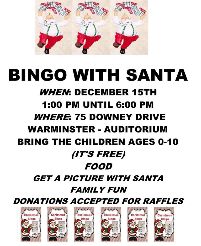 Bingo with Santa