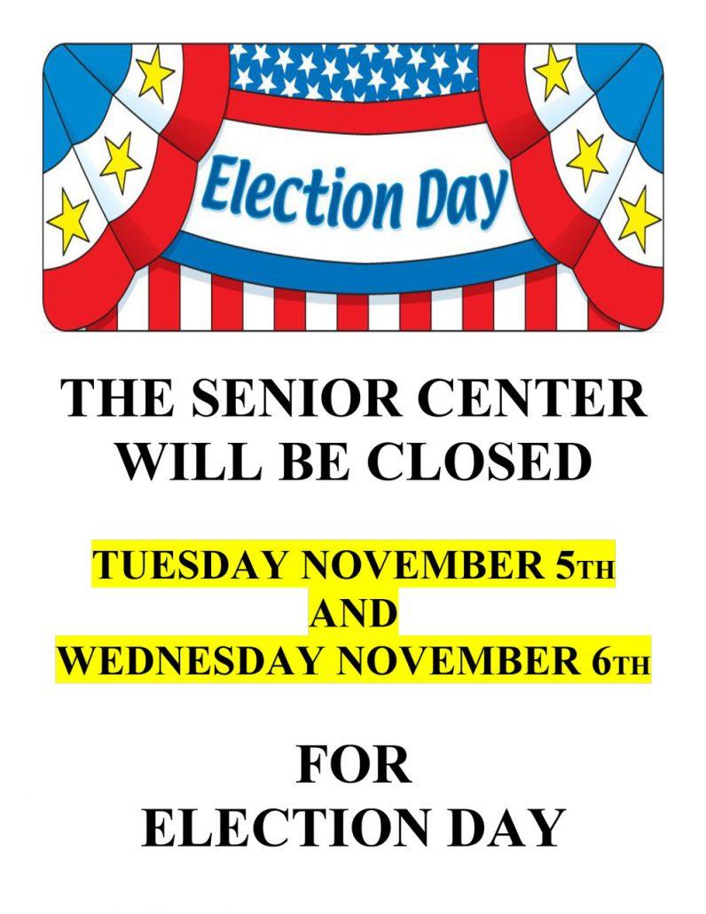 Election Day Senior Center